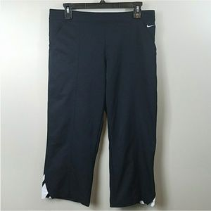 Nike Black Capri Pants
